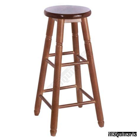 taburetes madera taburete bar facolonial t alto madera de pino asiento en