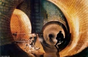 thames river underground tunnel london underground photos miles of ornate brickwork
