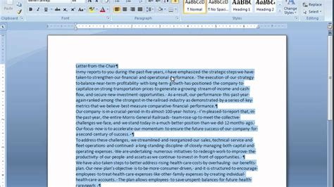 how to use spaces adjusting space between paragraphs in microsoft word youtube
