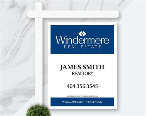 Yard Sign Design Template Real Estate For Sale Yard Signage Digital Download For Sale Outdoor Lawn Sign Design Templates