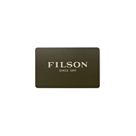 filson gift card filson - Filson Gift Card