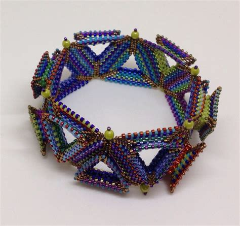 beadwork contemporary 264 best images about triangles on