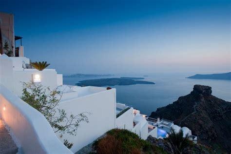 Small Architects House Santorini Mediterranean Hotel Design Inspired By Unique Santorini