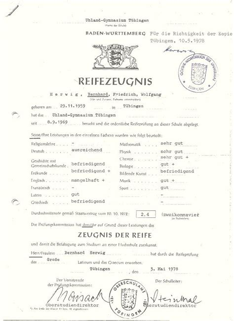 Bewerbung Abiturzeugnis Dokumente Bewerbung