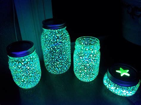 glow in the paint jar glitter glow in the jars trusper