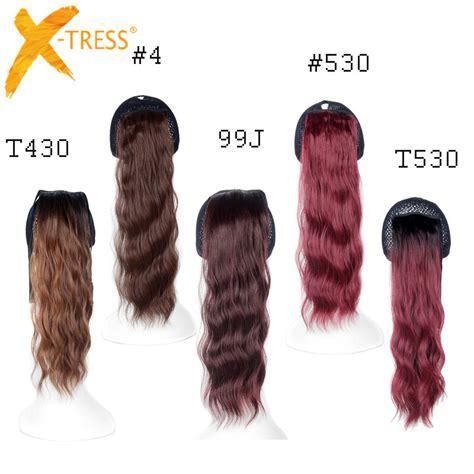 non synthetic hair extensions clip false ponytails synthetic kanekalon braiding hair