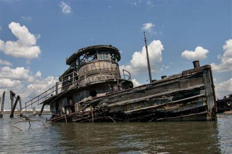 staten island boat graveyard swept away photo of the abandoned staten island boat