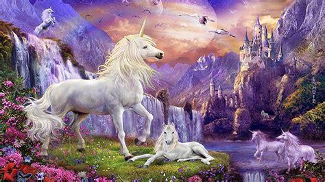 Zebra Wall Mural fantasy wallpaper hd unicorns horse castles waterfalls