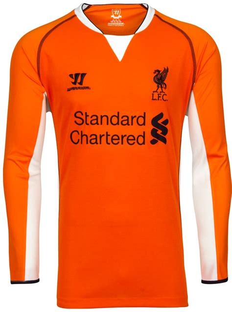 Jersey Langka Liverpool 13 14 Home Kit liverpool 13 14 2013 14 home away third kits released footy headlines