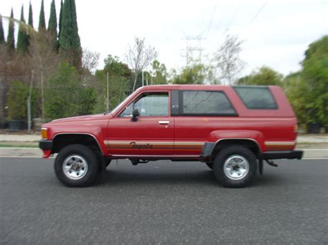 Toyota Forerunner For Sale 1986 Toyota 4runner 4wd 1987 1988 1989 22re Engine For