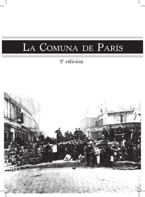 libro la comuna de pars libro la comuna de paris