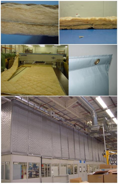 industrial soundproofing curtains soundproof curtains for industrial use