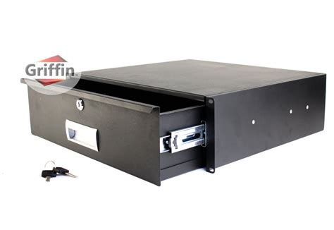3u rack mount studio gear sliding drawer shelf 16 quot