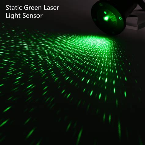 Outdoor Green Static Starry Laser Projector Laser Lawn Laser Light Projector