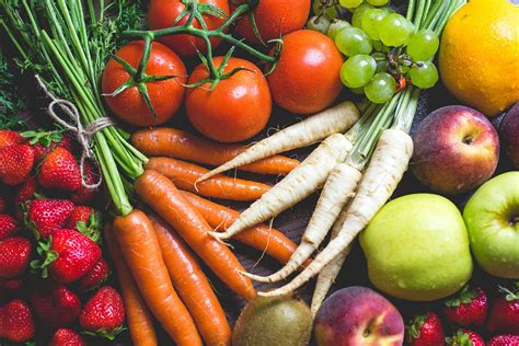 colorful vegetables fresh colorful fruits and vegetables free photo
