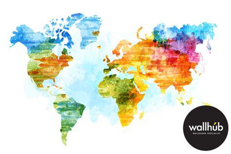 world map wallpaper murals world map wallpaper mural for best free home design