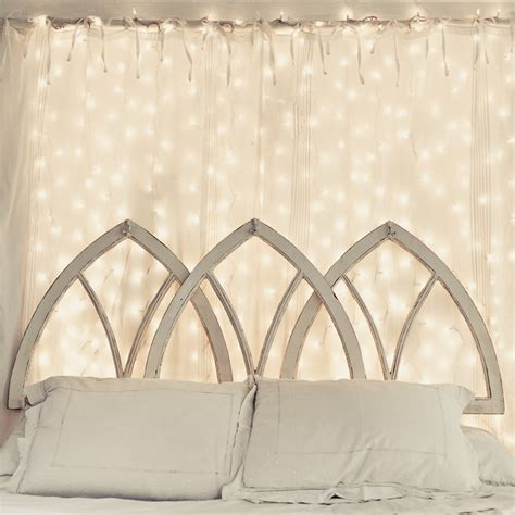 headboard fairy lights 1000 images about bedroom provence style on pinterest