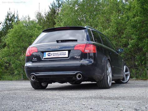 Audi A4 Sportauspuff by Fox Duplex Sportauspuff Audi A4 B7 Typ 8e Limousine Avant