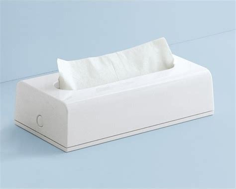 rectangular white tissue box cover contemporary tissue