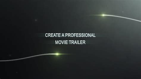 Maker Trailer Templates create your own trailer with our maker