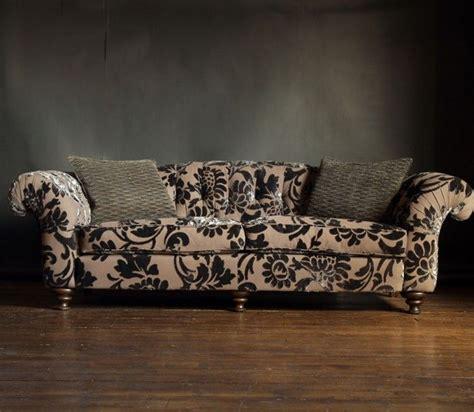 The Living Room Furniture Store Glasgow - flock sofa from sankey bloomsbury range shape not