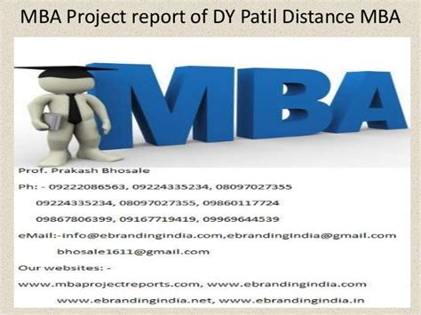 Mba Project On Quality by Mba Project Report Of Dy Patil Distance Mba