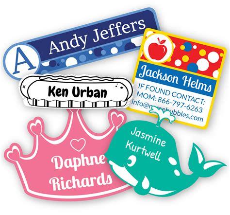 Aufkleber Kindernamen by New Designs From Namebubbles