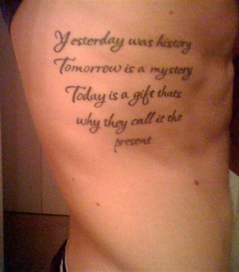 good tattoo quotes for guys ribs rib tattoo quotes quotesgram