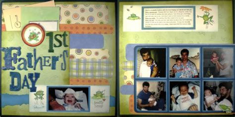 father s day scrapbook layout craft keepsake crafts sharing the love of creativity