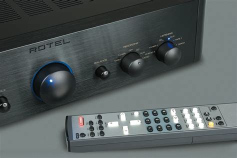 audio centre rotel rcd  stereo system