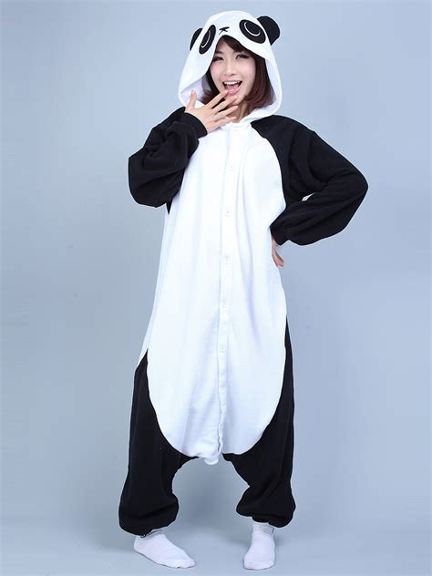 panda animal onesie kigurumi pajama fancy costume mall
