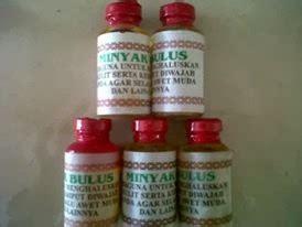 Minyak Bulus Kuning produk ramuan herbal tanpa epek sing pondok oleh oleh