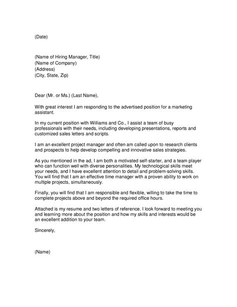 cover letter for marketing executive fresher cover letter sales to marketing