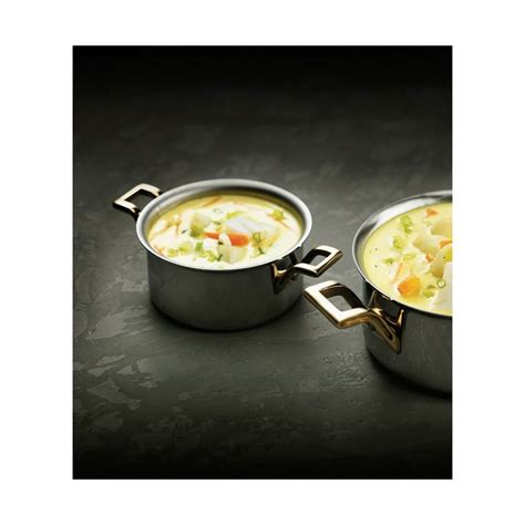 Mini Cooking Pot matfer mini cooking pot polished stainless steel 216 90 mm