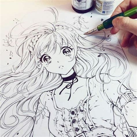 anime drawings how to draw an anime character with pictures wikihow