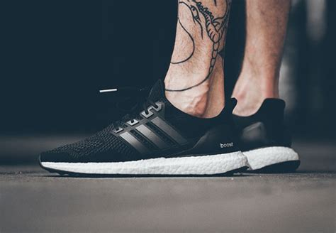 adidas ultra boost black a black colorway of the adidas ultra boost is available