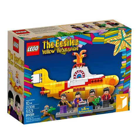 amazon com lego ideas 21306 yellow submarine building kit