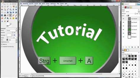 tutorial logo gimp gimp tutorial german logo erstellen youtube