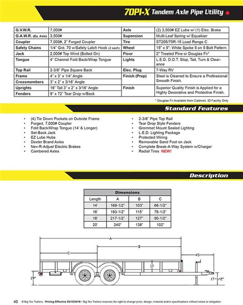 big tex 35sa trailer wiring diagram big tex trailer wiring