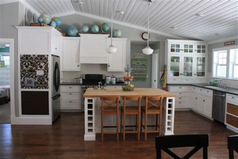 What To Do With The Space Above Kitchen Cabinets by The Space Above The Kitchen Cabinets