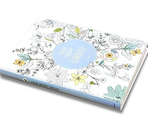 coloring book planner color therapy coloring books monthly weekly daily