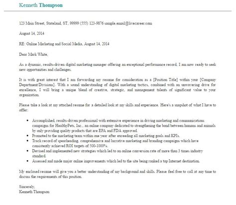 social media marketing cover letter social media manager cover letter