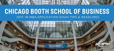 Chicago Booth Mba Application Essays by Chicago Booth Mba Essay Tips Deadlines The Gmat Club