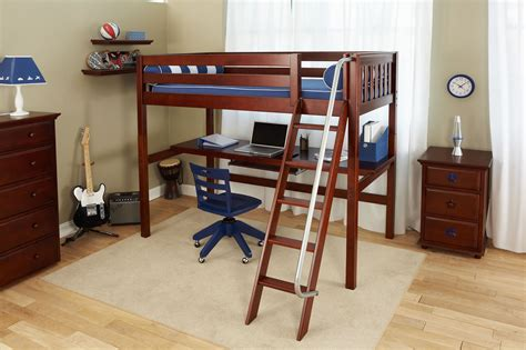 Bunk Bed W Desk Underneath by Furniture Gt Bedroom Furniture Gt Loft Bed Gt Maxtrix Loft Bed