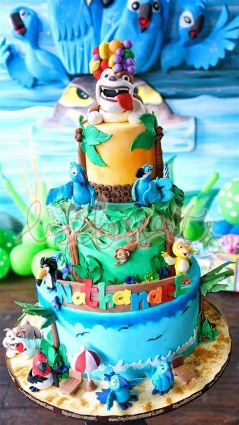 Southern Blue Celebrations: More Rio / Rio2 Cake Ideas & Inspirations