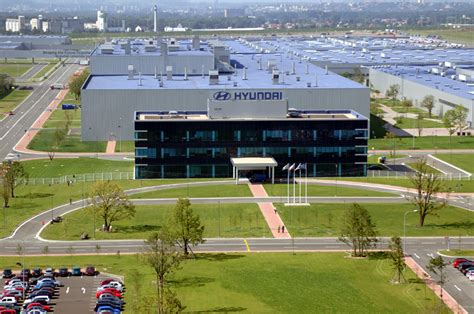 hyundai manufacturing plant hyundai officially opens 1 billion manufacturing plant in