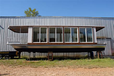 modern house boat metroship modern glass houseboat inspired by phillip johnson s glass house in new