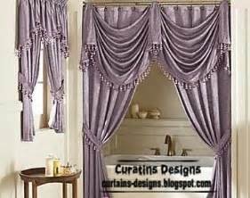 Purple Bathroom Window Curtains Luxury Shower Curtain Design Purple Bathroom Curtain