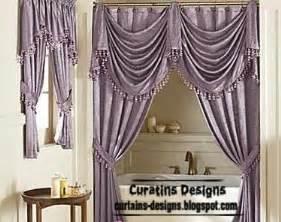 Luxury shower curtain design purple bathroom curtain curtain