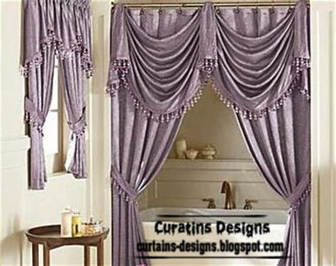 luxury purple curtains curtain designs